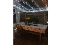 Pine Dining Table - seats 10