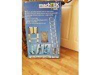 Machtek Tools 2.9m telescopic ladders NEW