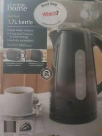 George home fast boil kettle (black)