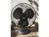 """12"""" Electric fan three speed"""