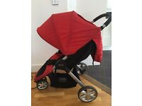 Britax B-Agile 3 Pushchair (0 To 4 Years, Flame Red)