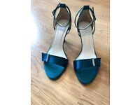 Bridesmaid / Wedding Guest Shoes By 'Else' BNIB Size 7 (40) Teal Blue
