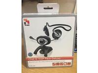 USB Webcam with Headset and Mic - Never used