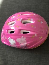 Brand New Girls Peppa Pink Peppa Pig Bicycle Scooter Helmet - collection from Balham