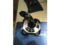 Logitech extreme 3D pro joystick,