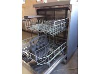 Bosch Exxcel Silver Fullsize Freestanding Dishwasher