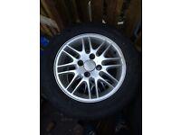 4 Ford Focus alloys /tyres 195/60/15