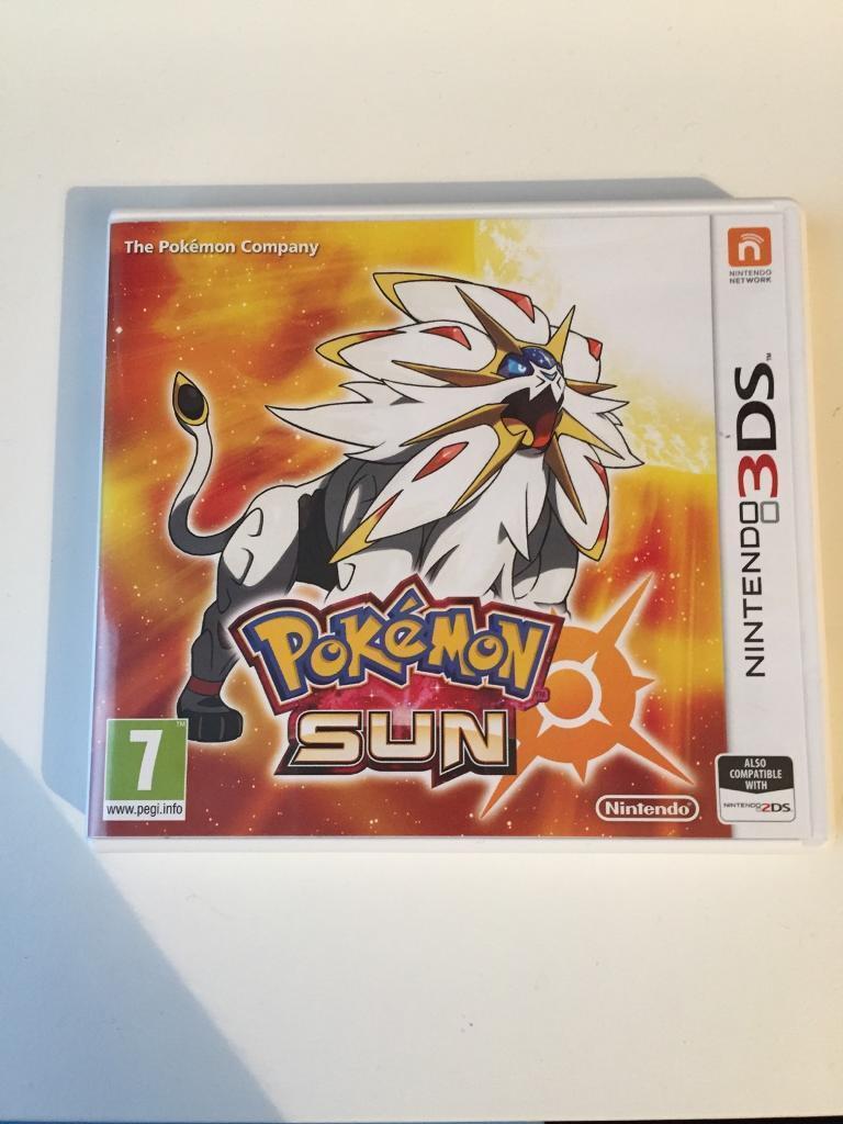 Pokémon Sun (Nintendo 3DS game)