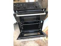 Under counter Indesit double oven