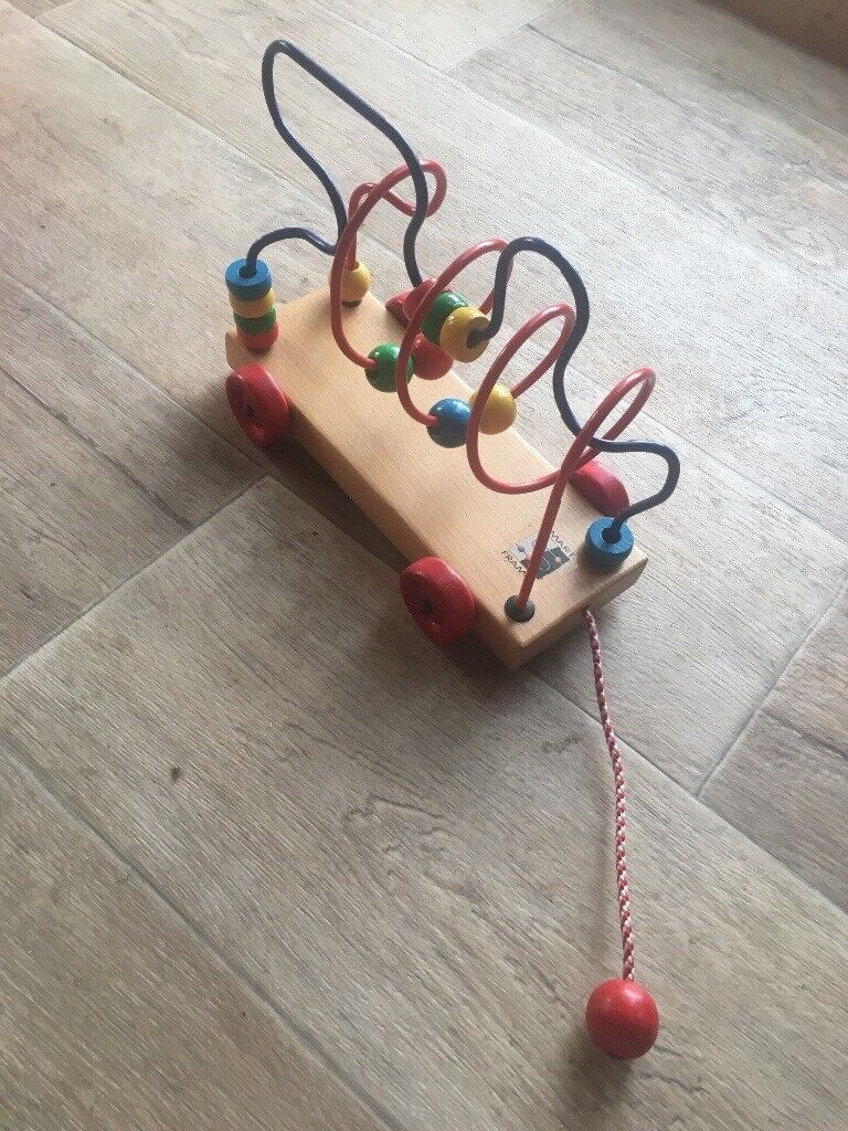 Smart Frame Wooden Beads On Wire Learning Toy In Wickford Essex Gumtree