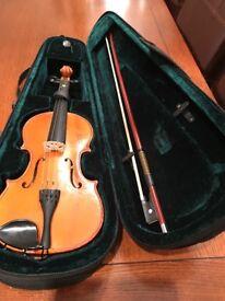 Student 3/4 violin for sale - Stringers of Edinburgh 1996