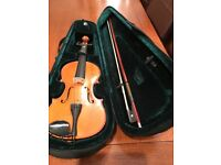 Student 3/4 violin for sale - Stringers of Edinburgh 1996