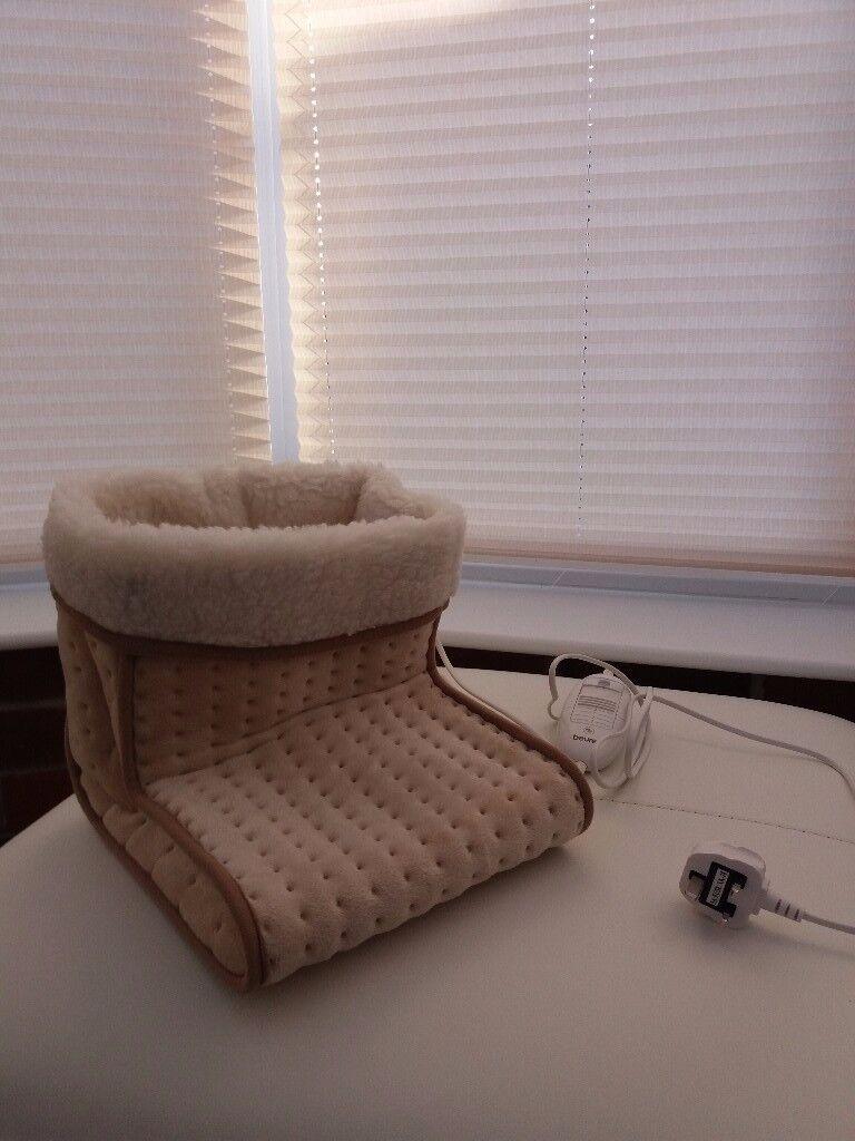 Unused Beurer footwarmer - great Christmas present.
