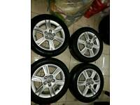 Genuine Audi vw alloy wheels 16 inch