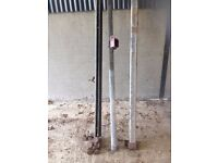 Sliding door rail for shed (Heavy duty)
