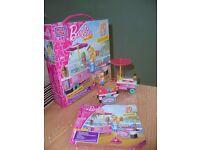 Mega Bloks Barbie Ice Cream Cart