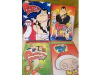 American Dad and Family Guy Bundle