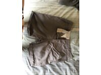 Variety of men's shorts, all never been worn