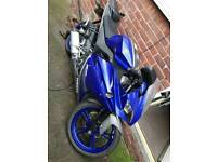 yamaha yzfr125 hpi clear low miles