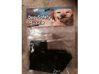 SIZE MEDIUM NEW IN BAG DOG SAFETY MESH MUZZLE