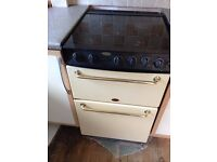 BELLING Gas Cooker - Cream colour