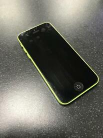 APPLE IPHONE 5C GREEN 16GB FACTORY UNLOCKED