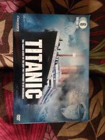 Titanic discovery channel box set