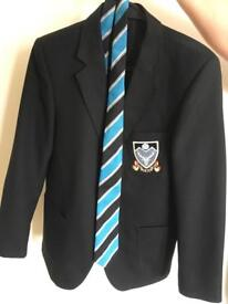 Monifieth High School Blazer and Tie - VGC