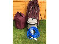 Aquarolls, wastemaster & mains water kit