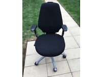 Fully Adjustable Ergonomic Office Chair - RH Logic 300 Series with arm rests