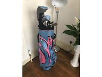 Ladies golf clubs - hardly used, brand new condition