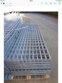 Galvanised metal sheets