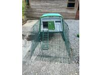Omlet Eglu large chicken coop with 2m run. £699 new