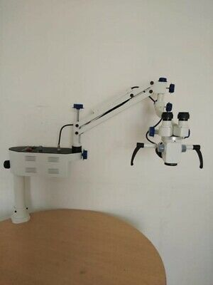 Ent Surgical Microscopeportable Table Mount3 Step Magnifications A