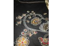 Brand new embroidered skirt.