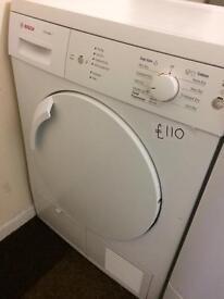 CONDENSER DRYER STARTING £80 with guarantee