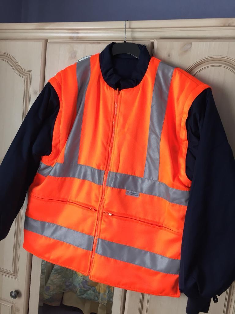 3M Scotchlite Hi-Vis Jacket - Reversible With Detachable Sleeves