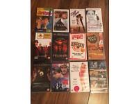 Various VHS video cassettes