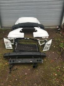 Ford transit mk7 front end complete silver or white