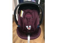 Cybex Aton car seat, mamas and papas, first stage