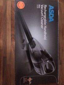 Asda Rechargable Handheld Vacuum Cleaner