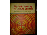 Physical Chemistry for the Life Sciences (Atkins, de Paula) 2006 Hardcover £32