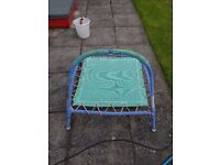 Mini toddler trampoline - well used but working fine - Free