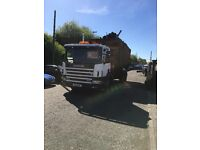 Scania 4 series d class 1999 hookloader and fassi crane