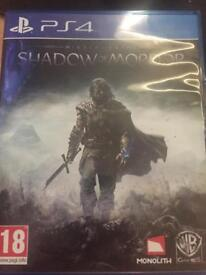 PS4 shadow of mordor