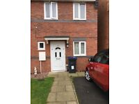 2 bed room new build house with own drive wanting a large 2 bed or 3 bed room house