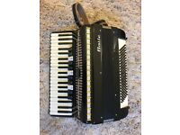Baile Black & Gold 120 BASS PIANO ACCORDION - immaculate condition!