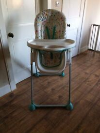 High Chair in excellent condition