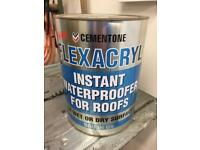 5ltr waterproofing paint in grey