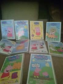 Peppa pig dvd collection (10)